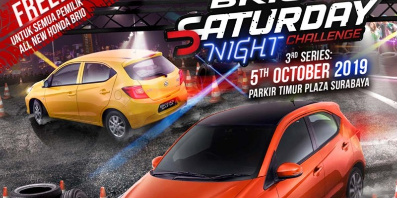 Brio Saturday Night Challenge Sambangi Surabaya