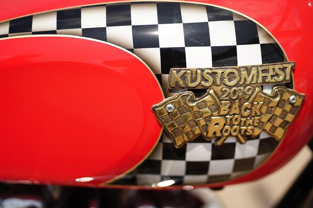"Lucky Draw Kustomfest 2019, Triumph Flat Track 'Ontoseno"""