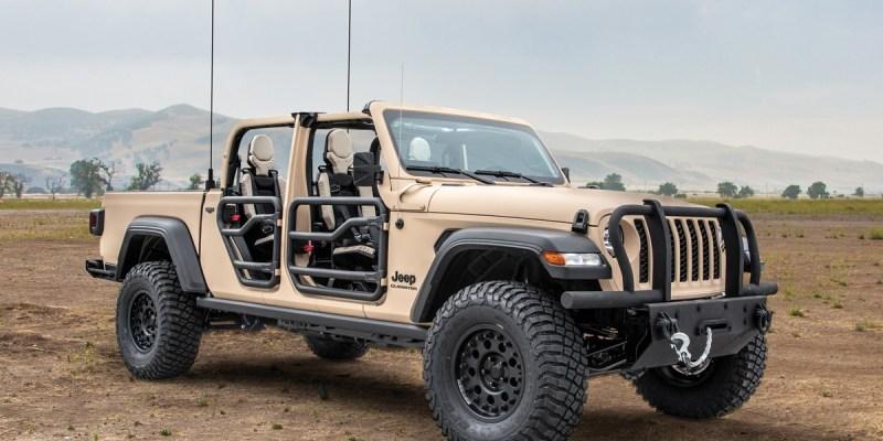 Jeep Gladiator Jadi Kendaraan Taktis Siap Perang