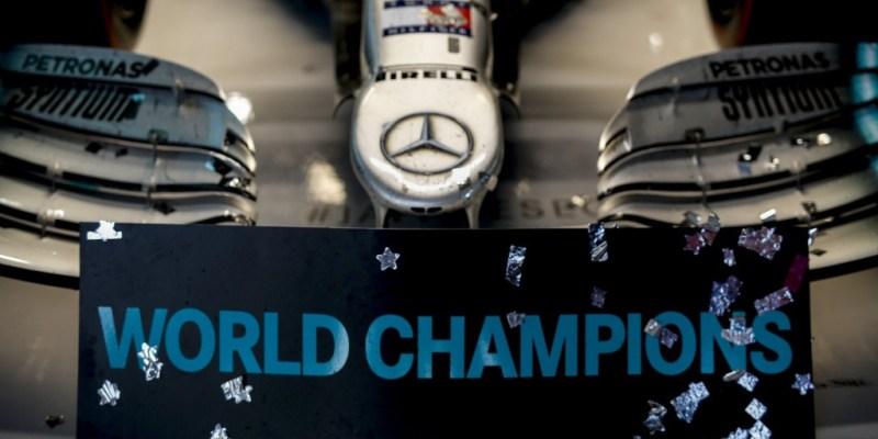 Tim Mercedes-AMG Petronas Motorsport Juara Dunia F1 2019