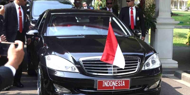 17 Mercedes-Benz Digunakan Saat Pelantikan Presiden RI