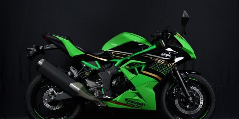 Kawasaki Ninja 250SL Livery Kawasaki Racing Team Meluncur