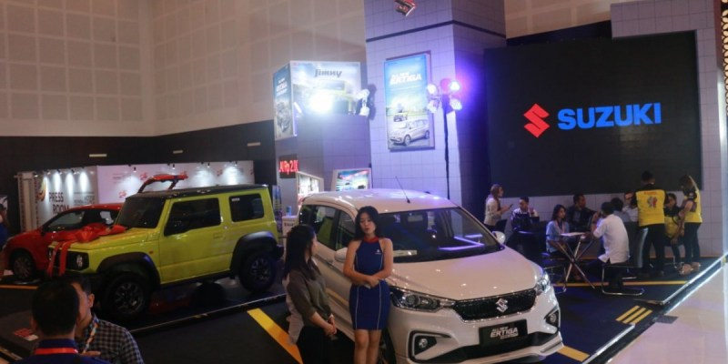 Target 13 Persen, Suzuki Gencar di IIMS 2019 Surabaya