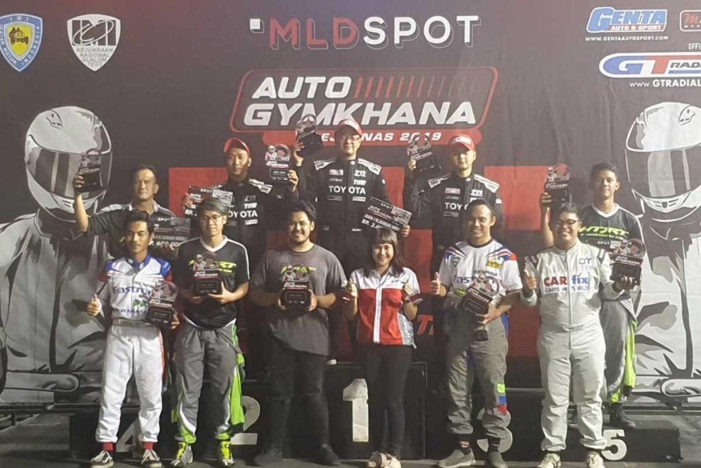 TTI Raih Juara Nasional MLD SPOT Auto Gymkhana 2019