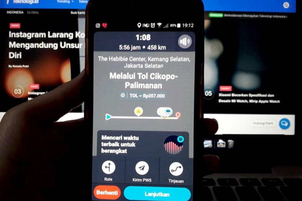 Permudah Pengendara, Waze Hadirkan Fitur Tarif Tol