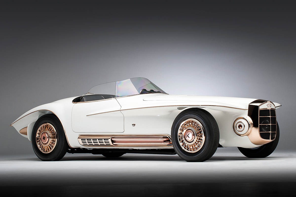 Konsep Retro Unik: Mercer-Cobra Roadster 1965