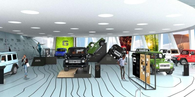 Lebih Tahu Mercedes-Benz G-Class di Mercedes-Benz Museum