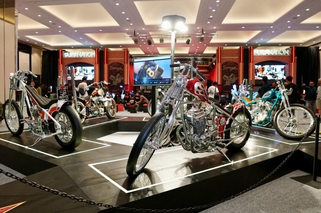 Keseruan Puncak Acara Suryanation Motorland Show Off 2019