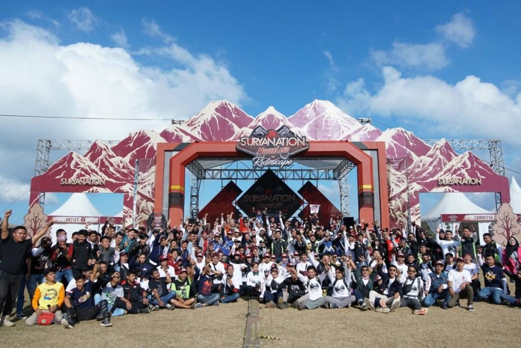 13. 000 Pengunjung Ramaikan Suryanation Motorland Ridescape di Lappa Laona