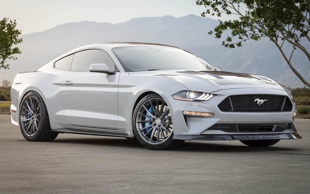 Ford Mustang 'Lithium' Siap Getarkan SEMA Show 2019