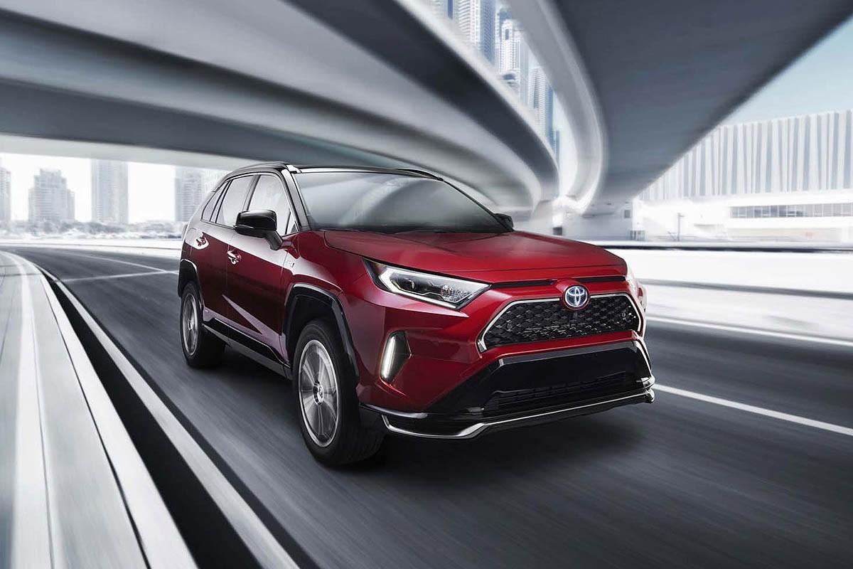 Toyota RAV4 Prime Debut di LA Auto Show 2019