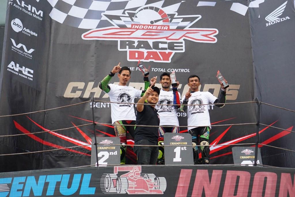 Kemeriahan Seri Pamungkas Indonesia CBR Race Day 2019