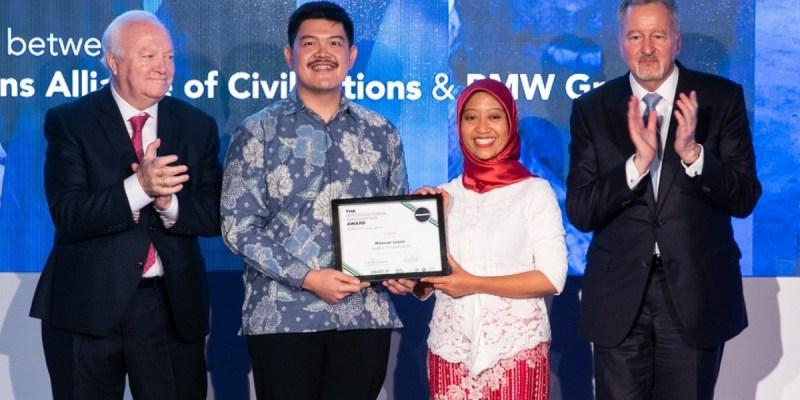 Proyek 'Milenial Islami' Raih Penghargaan dari BMW Group