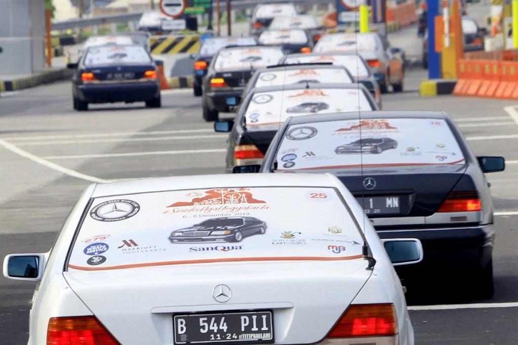 'Sonder Ngayogyakarta', MB W140 CI Serbu Jamnas MB Club INA