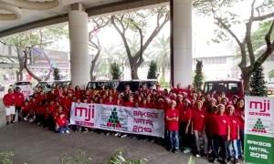 'MJI Baksos Natal 2019', Sasar 17 Panti dan Yayasan di Indonesia