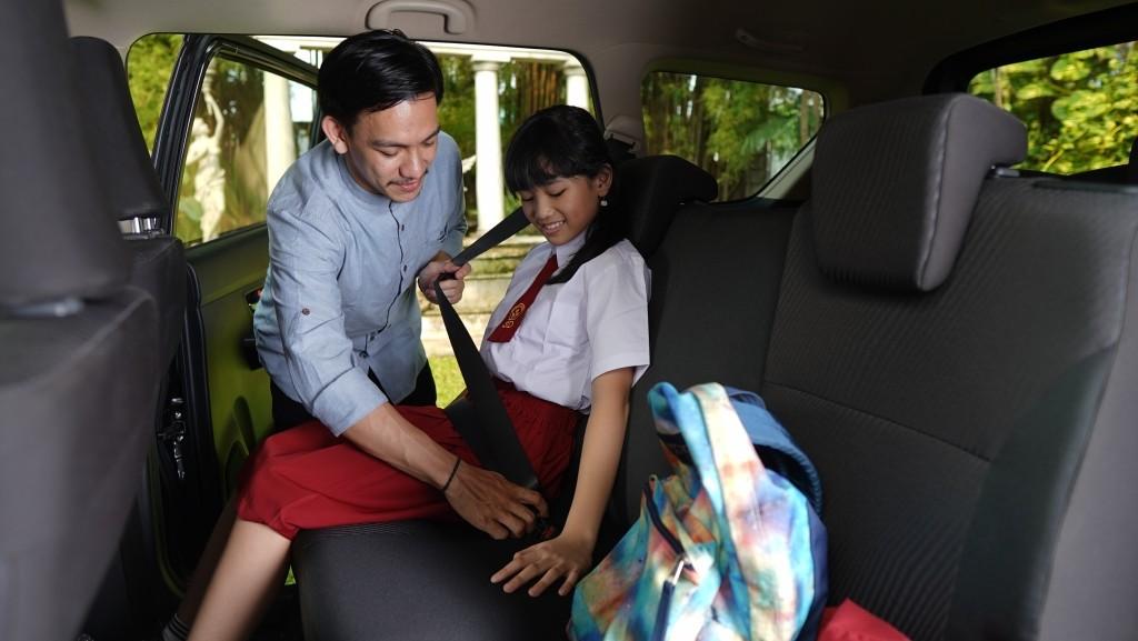 Suzuki Ertiga Lebih Aman untuk Keselamatan Anak, Ini Buktinya