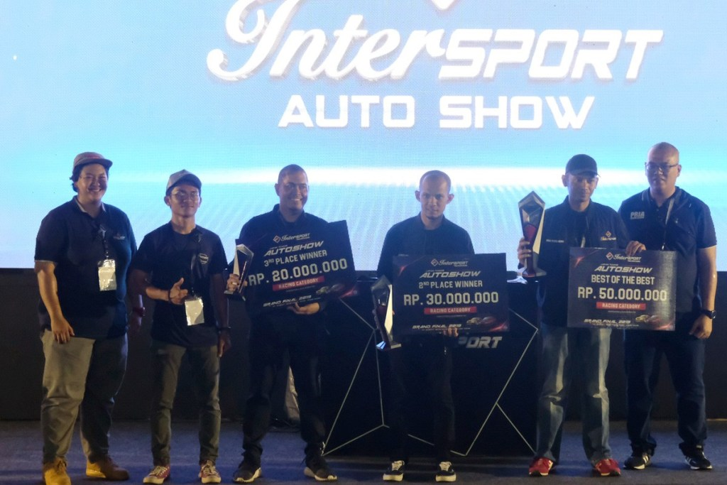 Inilah Para Juara Intersport Auto Show 2019