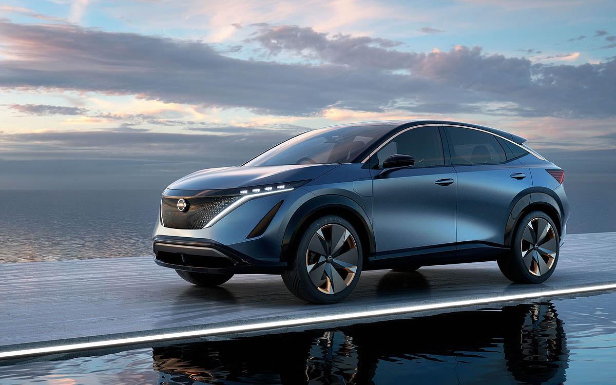 Nissan Ariya Concept Siap Tampil di CES 2020