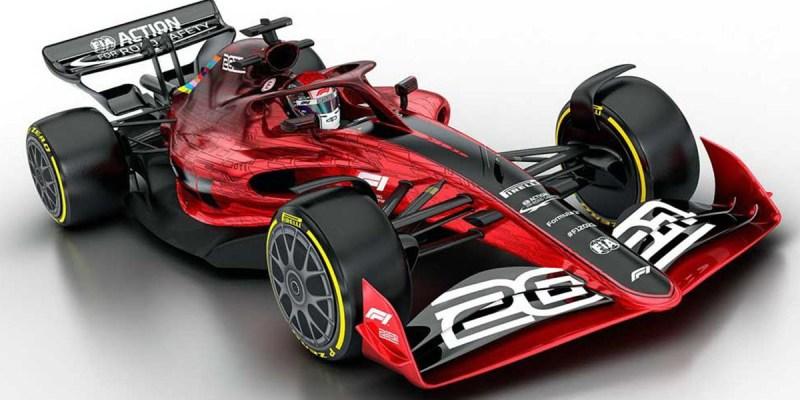 Desain dan Peraturan Terbaru Mobil F1 Musim 2021