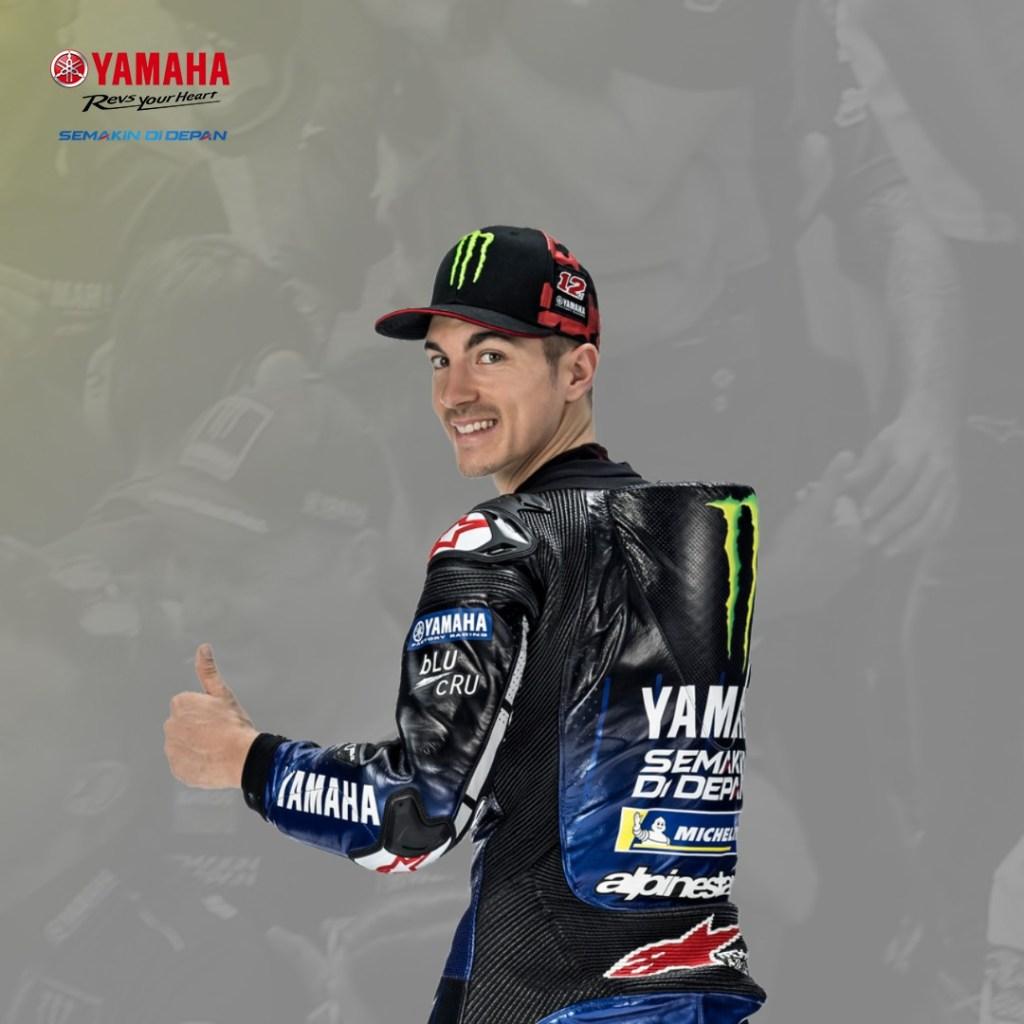Siap-siap, Valentino Rossi dan Maverick Vinales Datang ke Indonesia