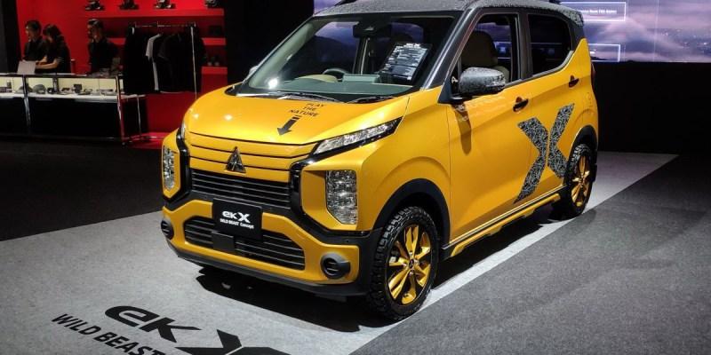 eK Cross, Mobil 'Imut' Mitsubishi di Tokyo Auto Salon 2020