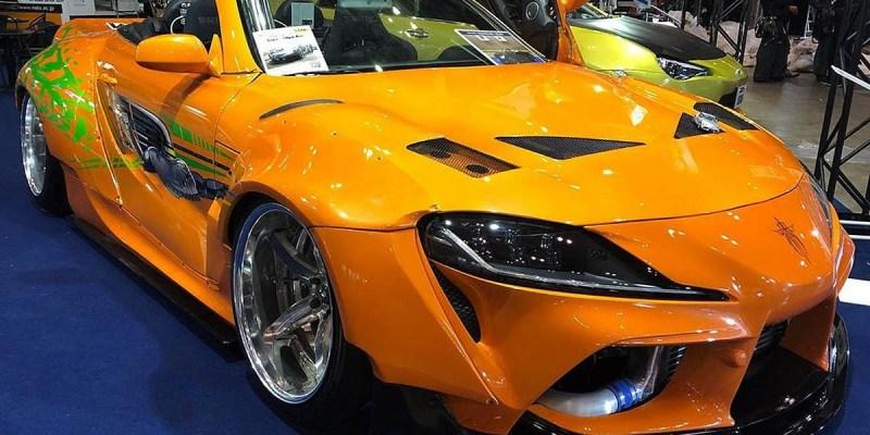 Unik! Lexus SC Dimodifikasi Jadi Toyota Supra A90 Roadster