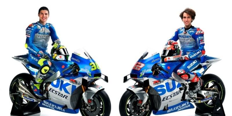 Warna Silvernya Keren, Inilah Tampilan Suzuki Esctar MotoGP 2020