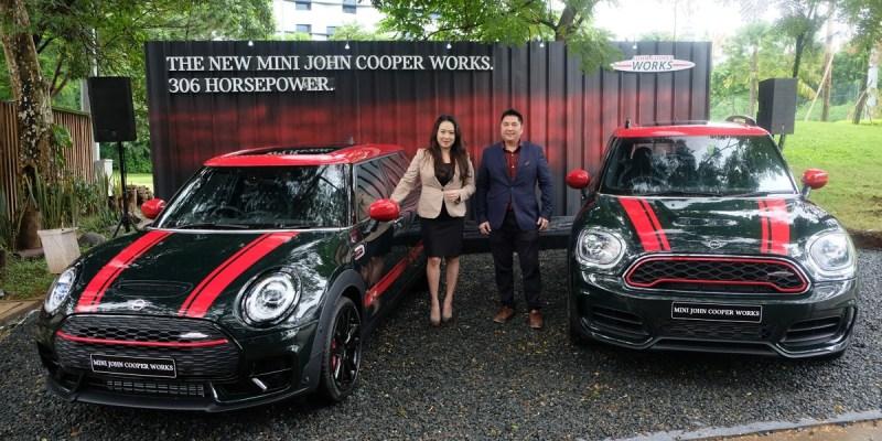 Generasi Terbaru MINI John Cooper Works Meluncur di Indonesia