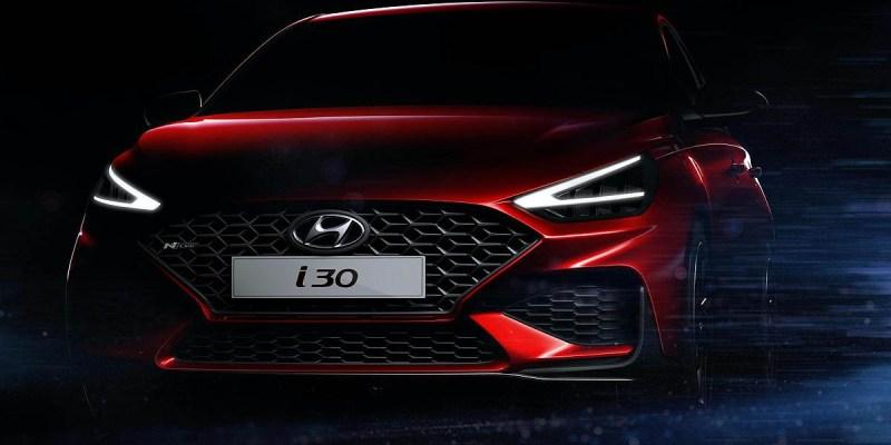 Tampil Lebih Sporty, Hyundai i30 Facelift Siap Debut di Geneva