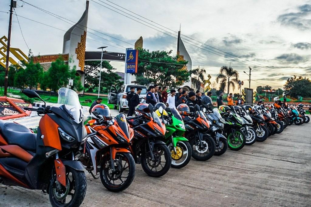 Empat Klub Motor Ikuti 'Camp Ride' Bold Rider Lampung