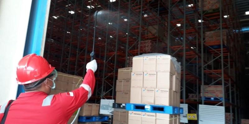 Cegah Corona, Pertamina Lubricants Sterilisasi Fasilitas Produksi Pelumas