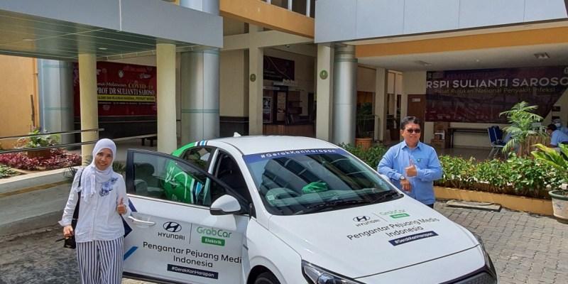 Hyundai Sediakan Unit Ioniq Elektrik Untuk Tenaga Kesehatan