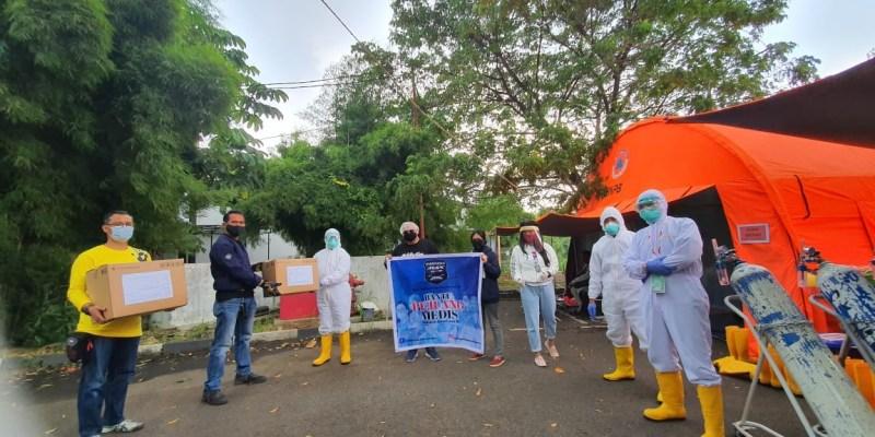 Aksi Sosial IMO, Donasikan APD ke Sejumlah Rumah Sakit