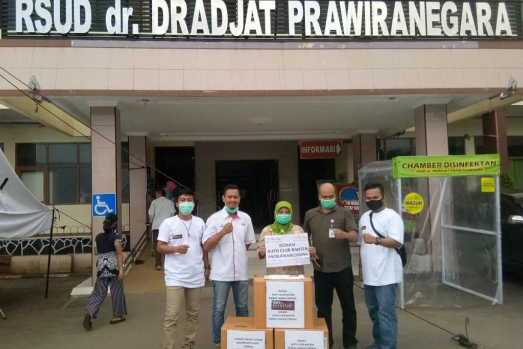 Cara Auto Club Banten Perangi Covid-19