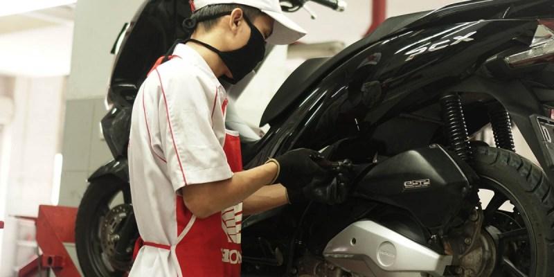 Service Motor Honda Bisa Sambil Beramal, Ini Caranya