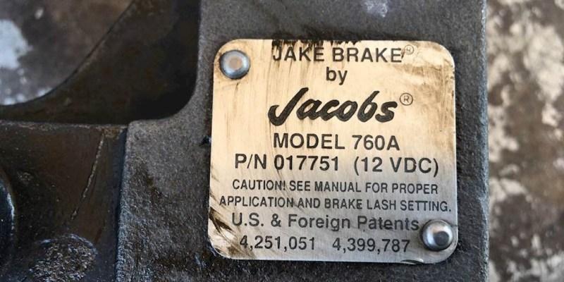 Jake Brake : Efektif Namun Bising
