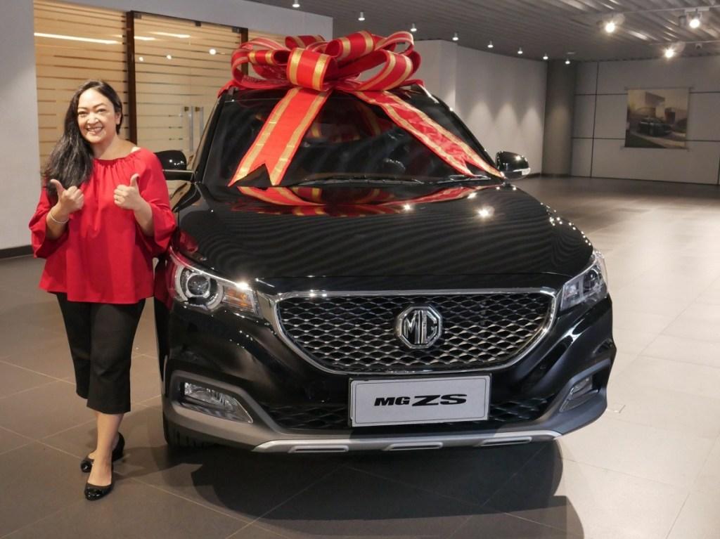 Inilah Konsumen Pertama MG ZS Di Indonesia
