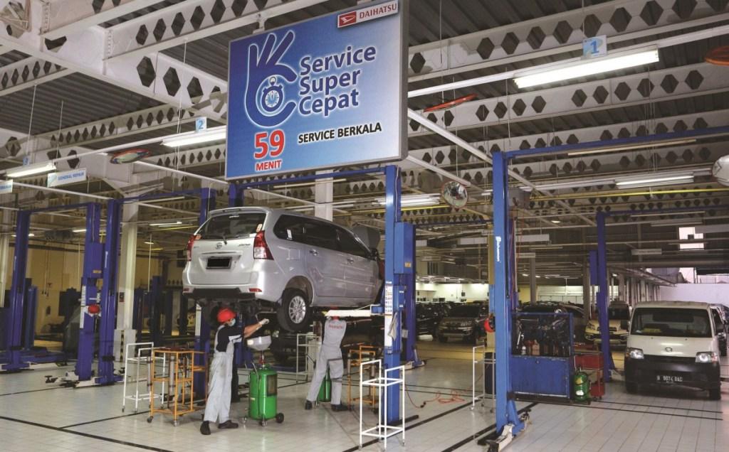 Uji Emisi di Bengkel Resmi Daihatsu, Hanya Rp 165 Ribu