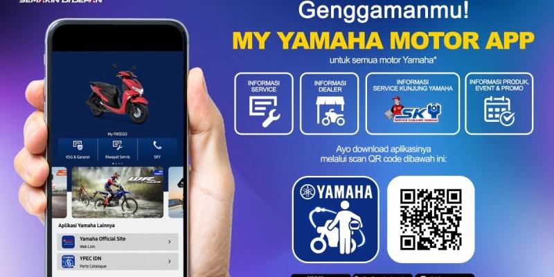 Ikuti Tren Digital, Yamaha Luncurkan Aplikasi My Yamaha Motor