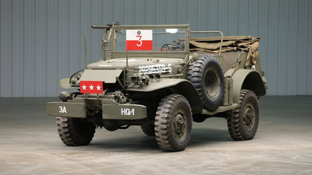 Dodge WC57 Command Car : Favorit Jenderal Geoge S Patton