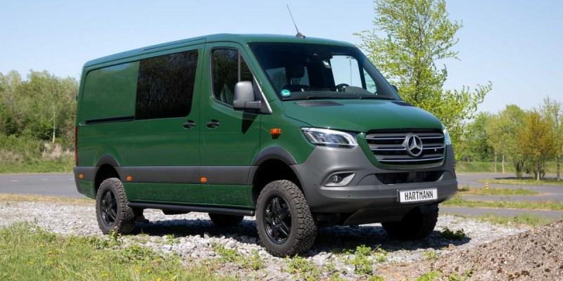 Modifikasi Mercedes-Benz Sprinter Sang Penjelajah Alam