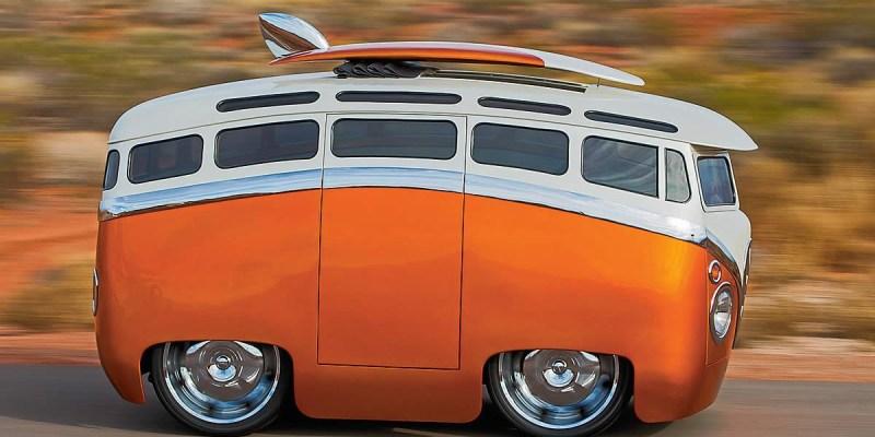 VW Combi T1 Surf Seeker, Microbus Kartun Dengan Sensasi Hotrod