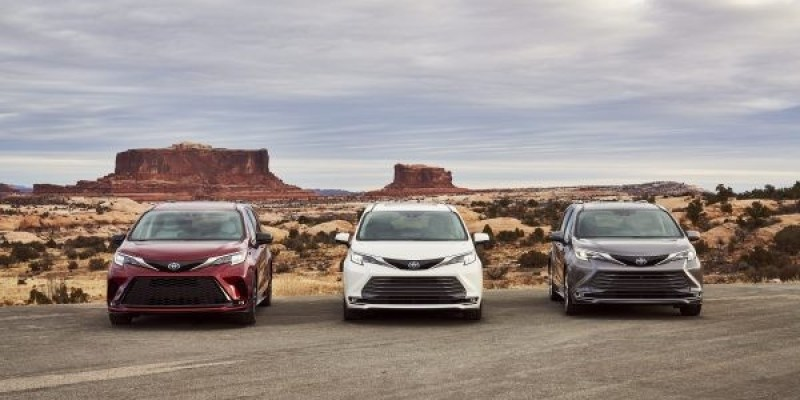 "Toyota Sienna 2021, ""The All American Toyota"""