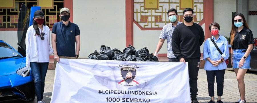 'LCI Peduli Indonesia', Bagikan 2000 Paket Sembako