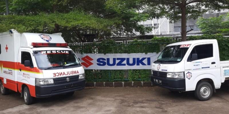Suzuki Reaksi Cepat Bantu Pendistribusian Donasi Bagi Tenaga Medis