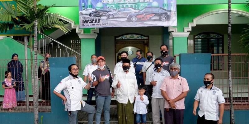 Baksos Ramadhan dan Pelantikan Member Baru MB W211 Bekasi