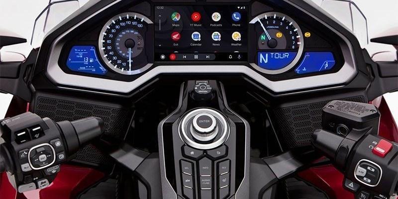 Honda Gold Wing Kini Dibekali Fitur Android Auto