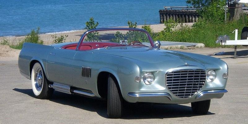 Konsep Retro Unik: Chrysler Falcon 1955