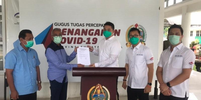 Grup Astra Medan Serahkan 2 Ventilator untuk Sumatera Utara