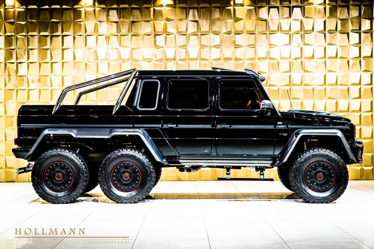 Brabus Mercedes-AMG G 63 6x6, The Coolest SUV In The World!